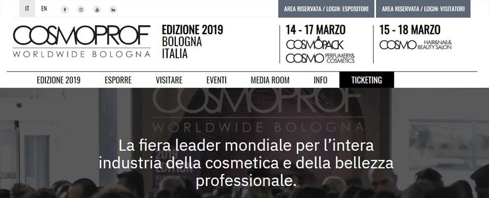 Cosmoprof Worldwide Bologna 2019