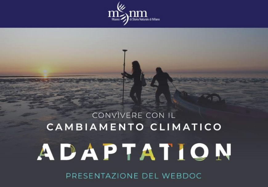 Presentazione del webdoc ADAPTATION